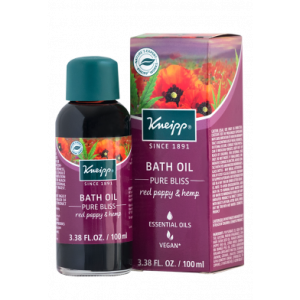 Kneipp Red Poppy and Hemp Bath Oil