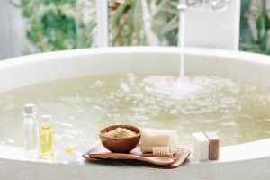 Baths can have therapeutic properties
