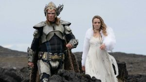 Will Ferrell and Rachel McAdams as Sigrit and Lars Ericksson in Eurovision Song Contest Movie