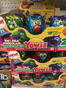 Yowie takes over shelf space from Kinder