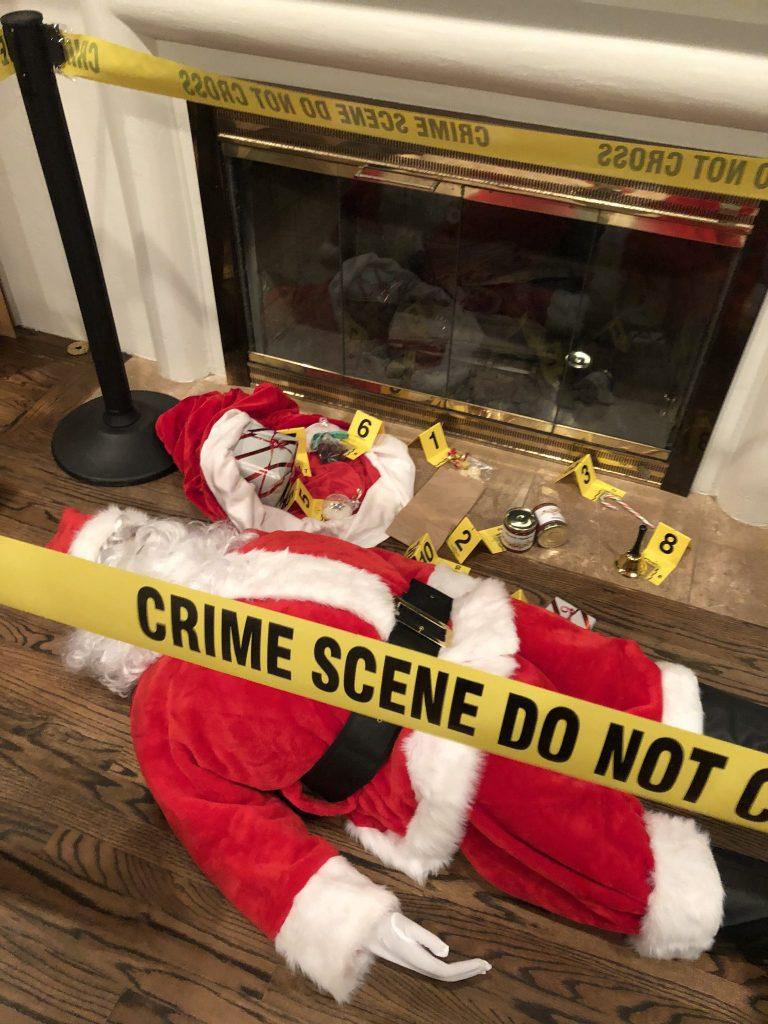 "Murder Mystery Scenario ""Let it Snow"""