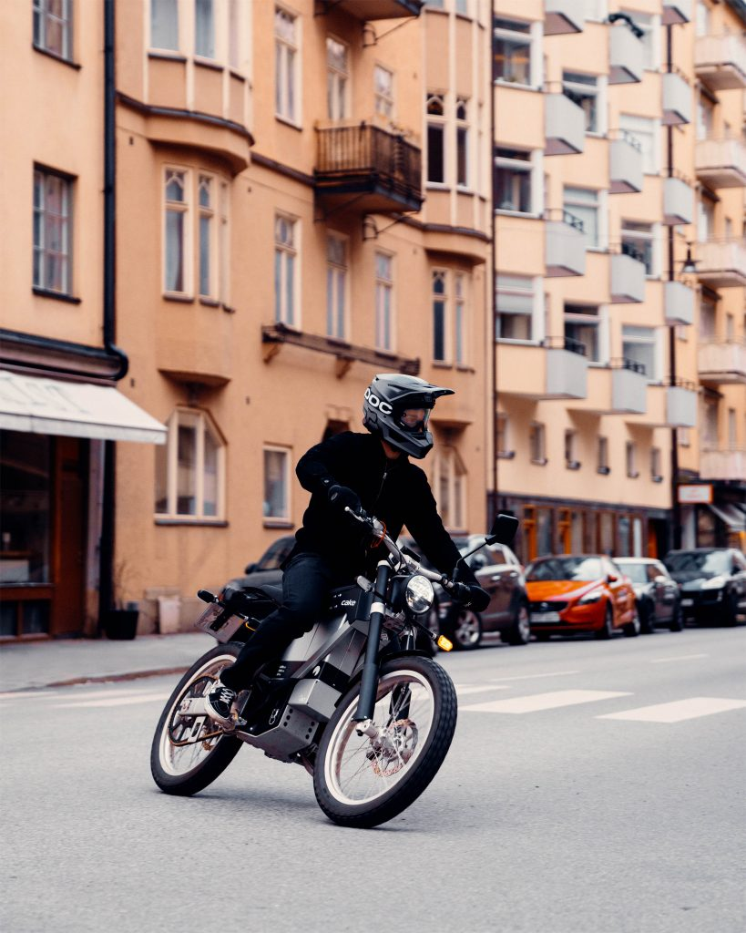 Street-legal Kalk e-bike