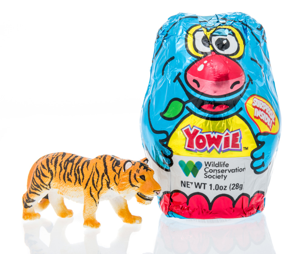 tiger from Yowie's wildlife animal line of toys