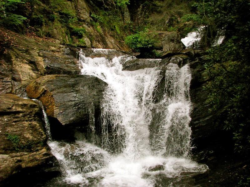 Helen Hiking Waterfall