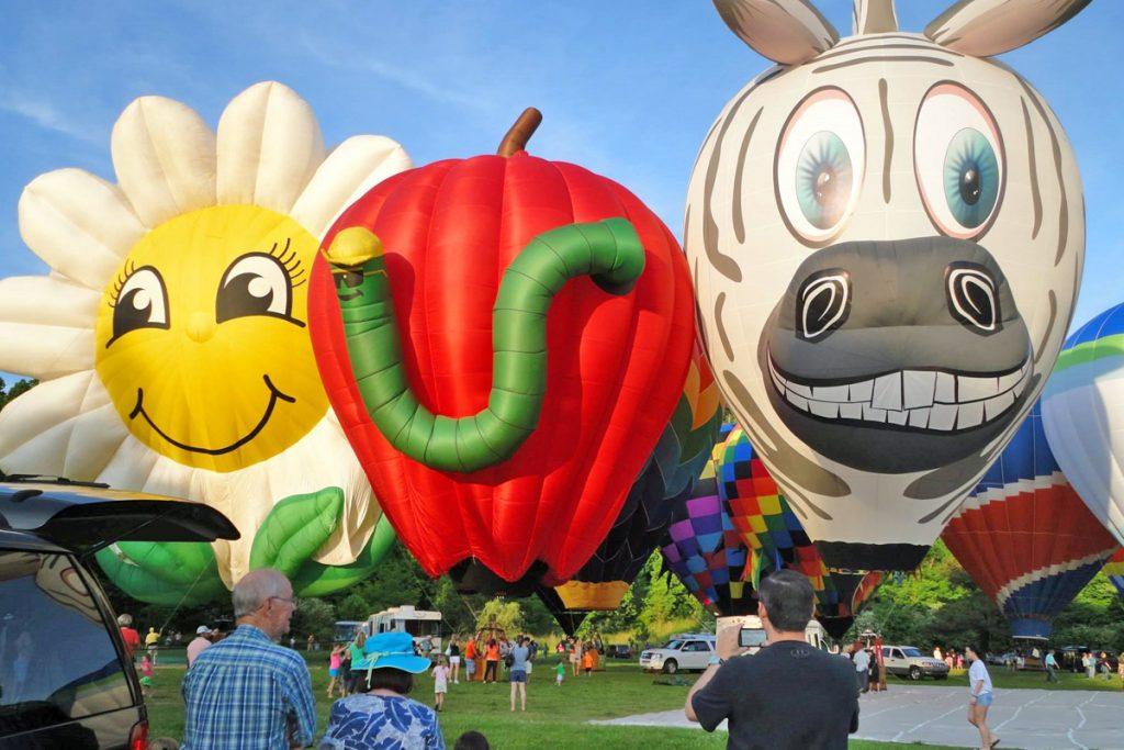 Hot Air Balloons Annual Race