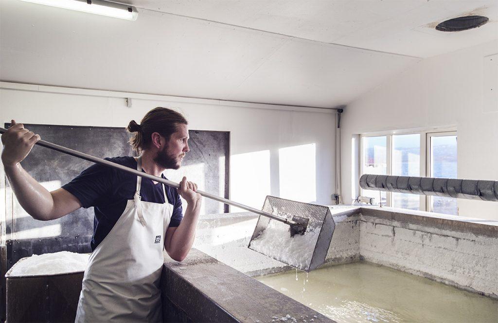 Icelandic Salt Production