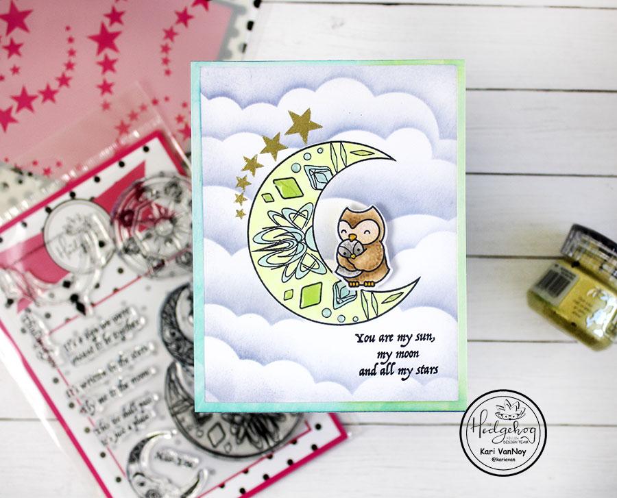 Hedgehog Hollow Baby Shower Cards