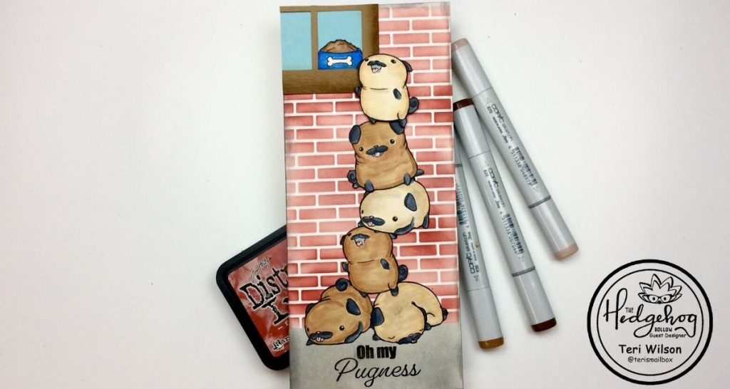 Hedgehog Hollow Pug Theme Cards